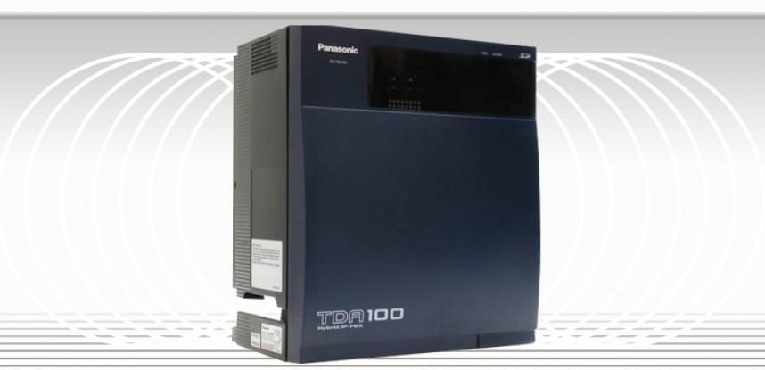 Conmutador Telefónico Digital Panasonic KX-TDA100