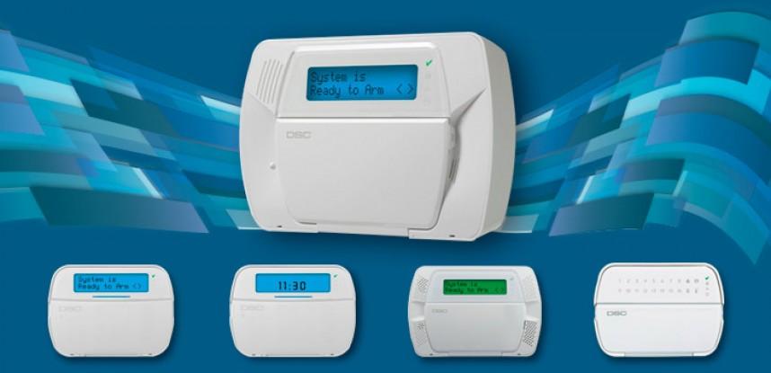 Sistema de seguridad alarmas DSC
