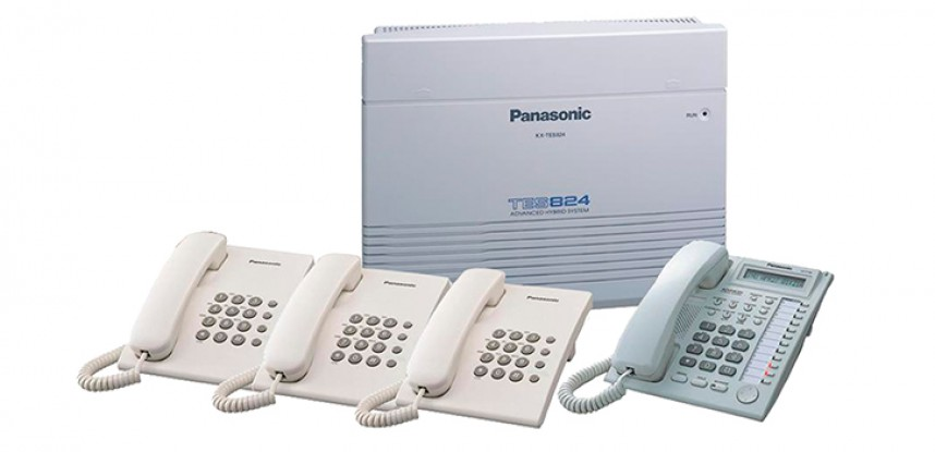 Conmutador Análogico Panasonic KX-TES824