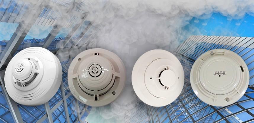 Detectores de humo.