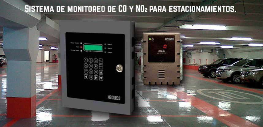 Sistema de Monitoreo de gases en estacionamientos.